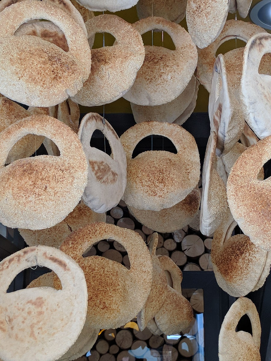 Koulouri  is the most famous Greek snack. In  Oven Sesame,  it comes with many different fillings and in a unique shape!
