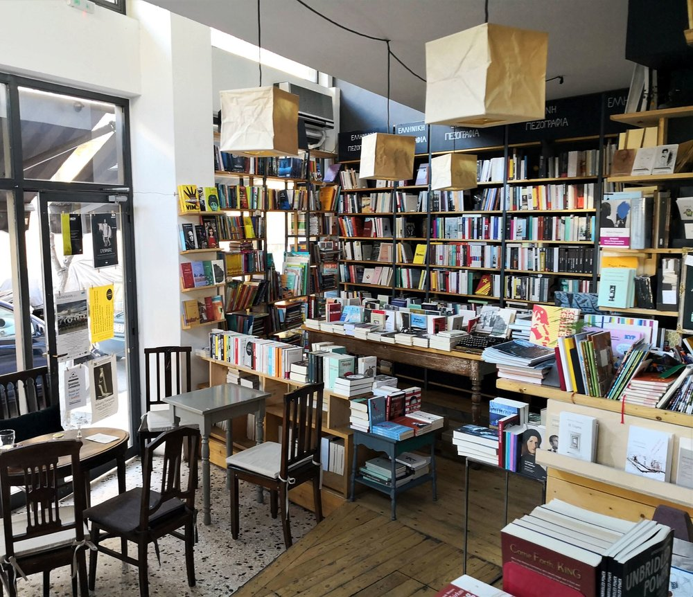 Little Tree  is one of the best examples of how a bookstore can be a cozy and welcoming cafe as well.