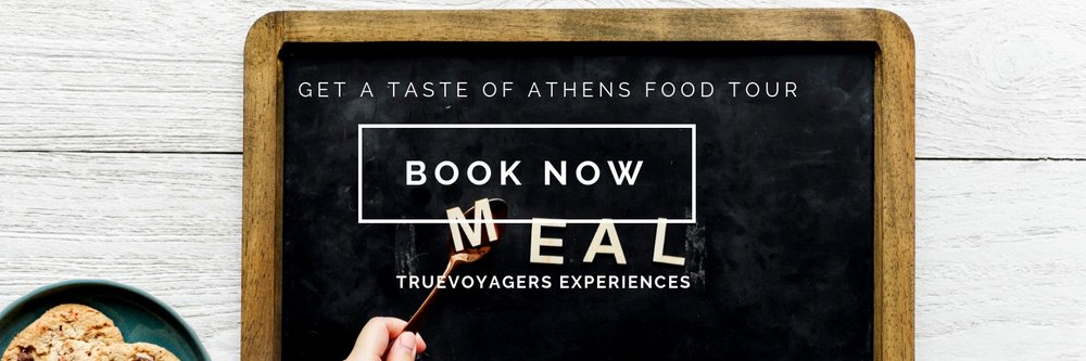 """Taste the most authentic Greek flavors and discover Athens gastronomic gems in our """" Get a Taste of Athens food tour """"!"""