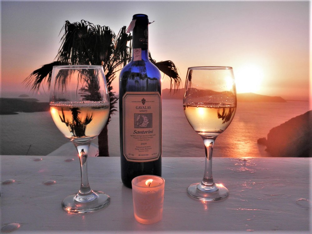 Gavalas winery  is one of the oldest in Santorini. Source: Gavalas winery