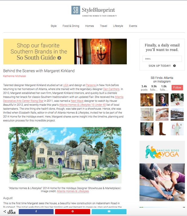 StyleBlueprint: Behind the Scenes with Margaret Kirkland -