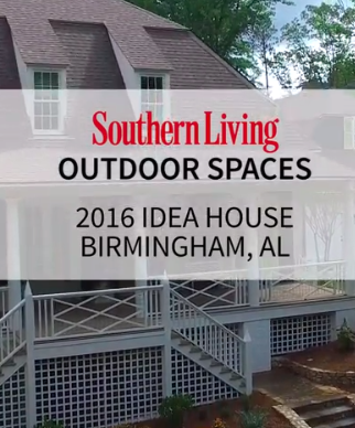Video: Southern Living 2016 Idea House - Outdoor Spaces -