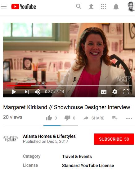 Shophouse Designer Video Interview: Margaret Kirkland -