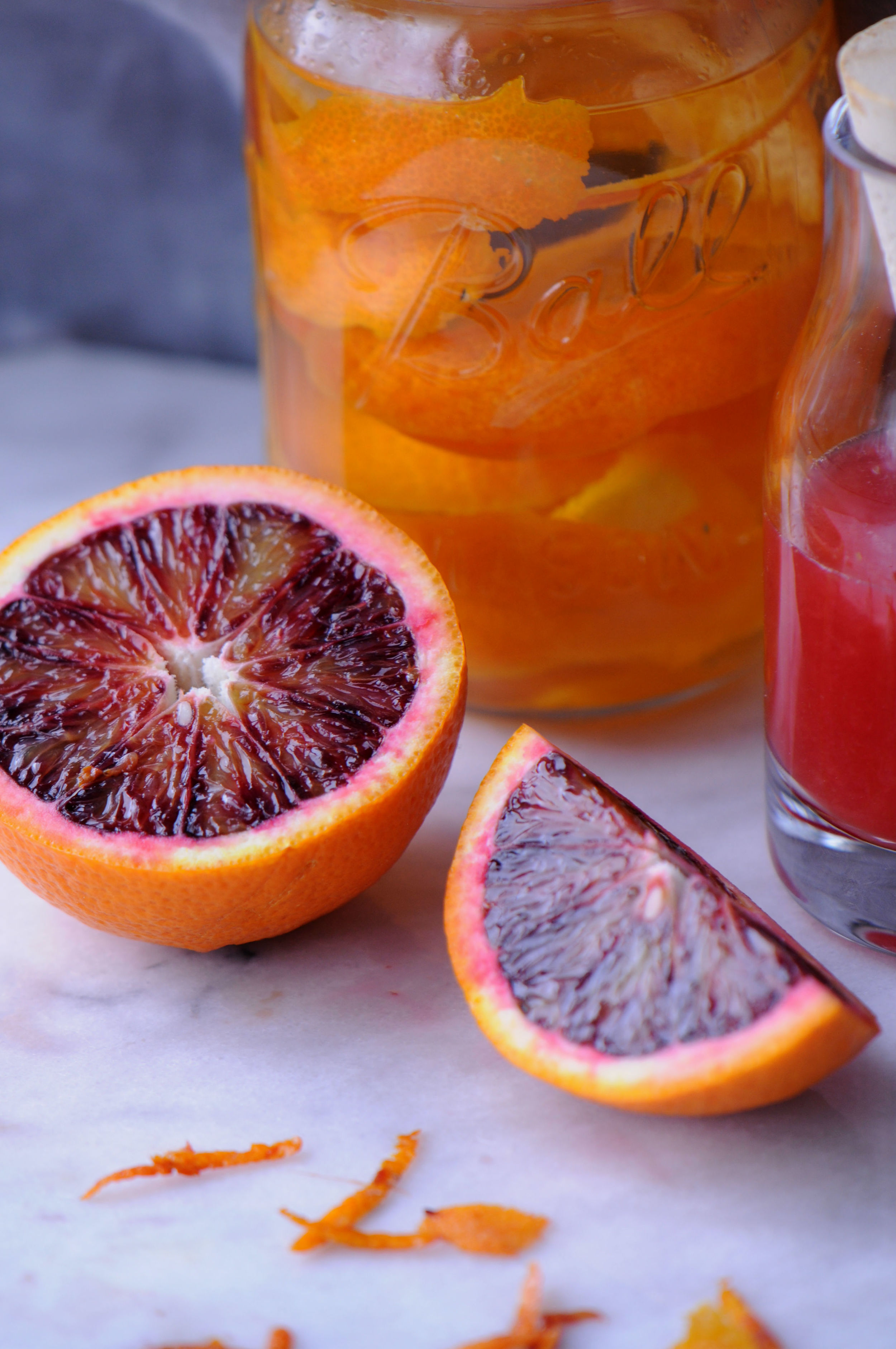 Crafting with Mason Jars, Blood Orange Cocktail project