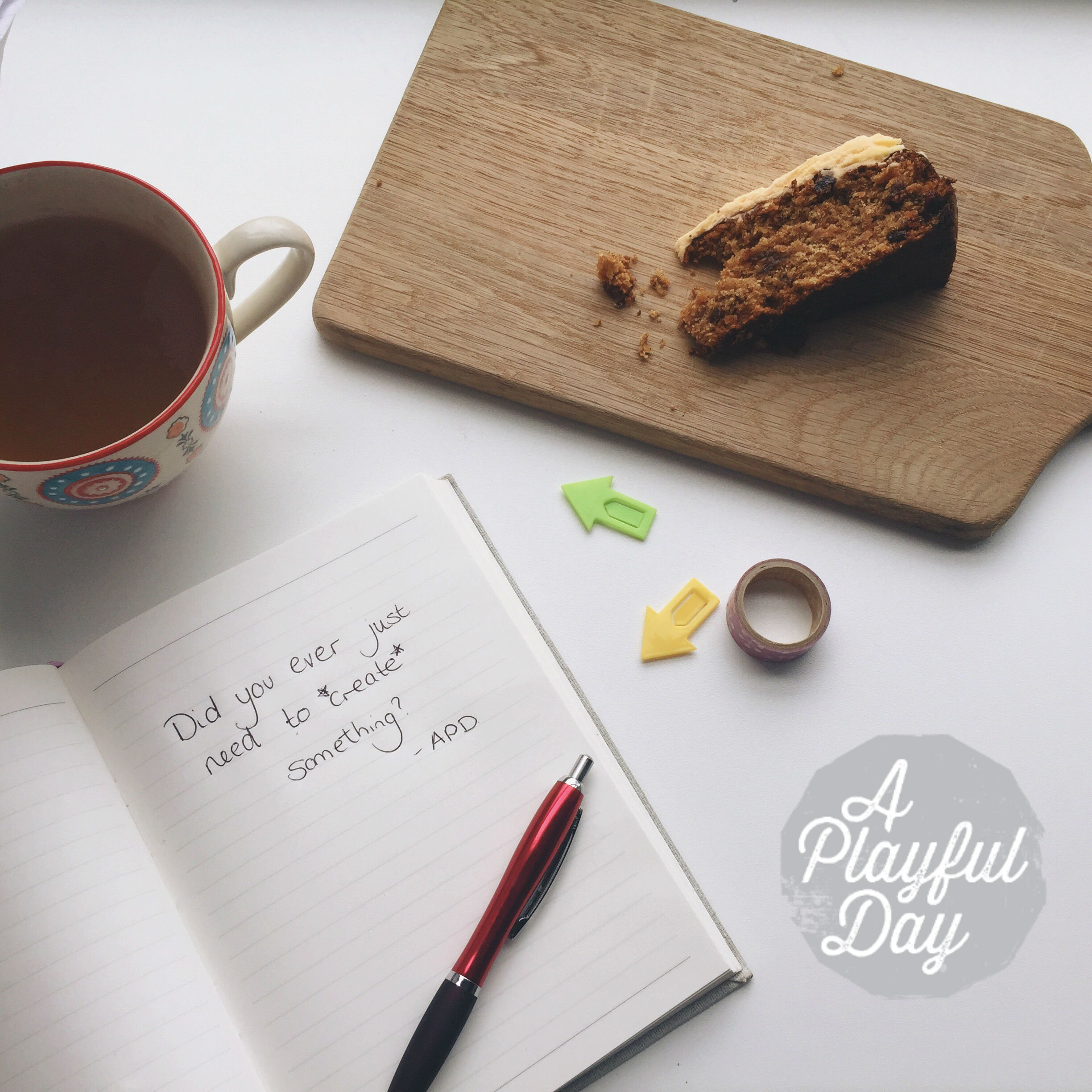 The A Playful Day podcast: Season 1, Episode !: The Maker's Year