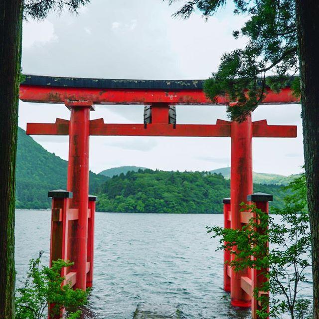 Needing an escape through the city of Hakone. ⛩ 📷: @shelbyalisha #Hakone #ShareTheWorldUA