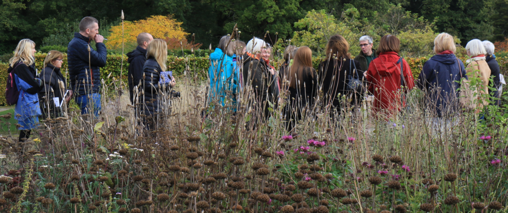 One of our events at Scampstoh Hall Gardens in Yorkshire last year.