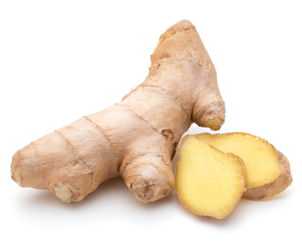 Ginger - Ginger is a natural wonder that has been used for thousands of years for it's calming and antioxidant properties.