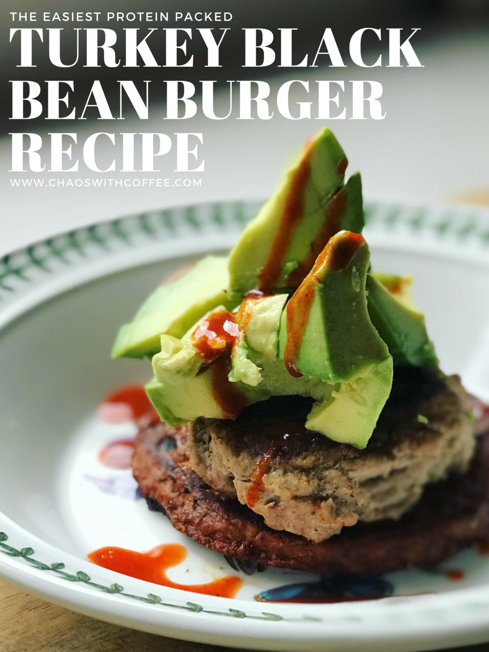 Easy Turkey Black Bean Burgers