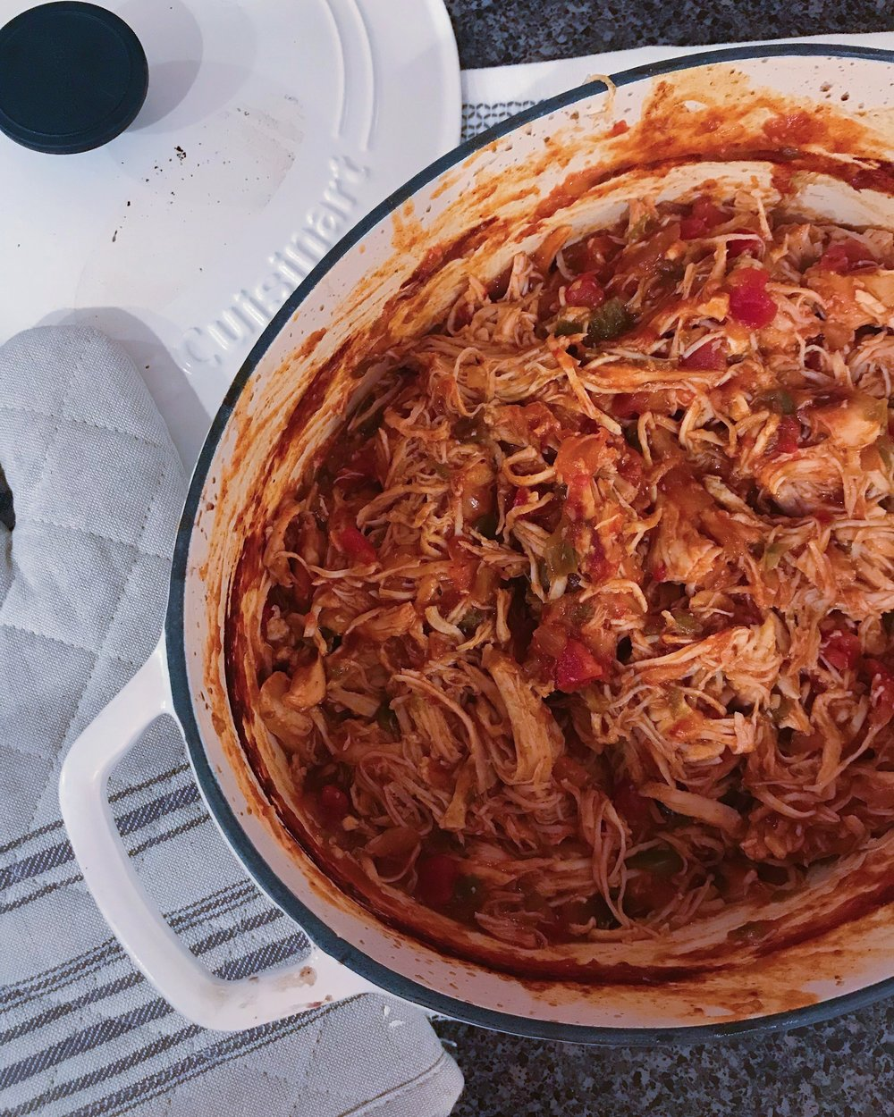 Slow Cooker Chicken Fajitas vis Chaos With Coffee