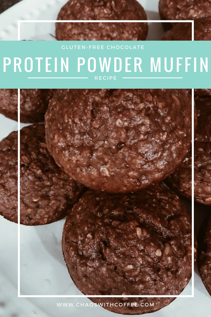 Gluten-Free Chocolate Protein Powder Muffins
