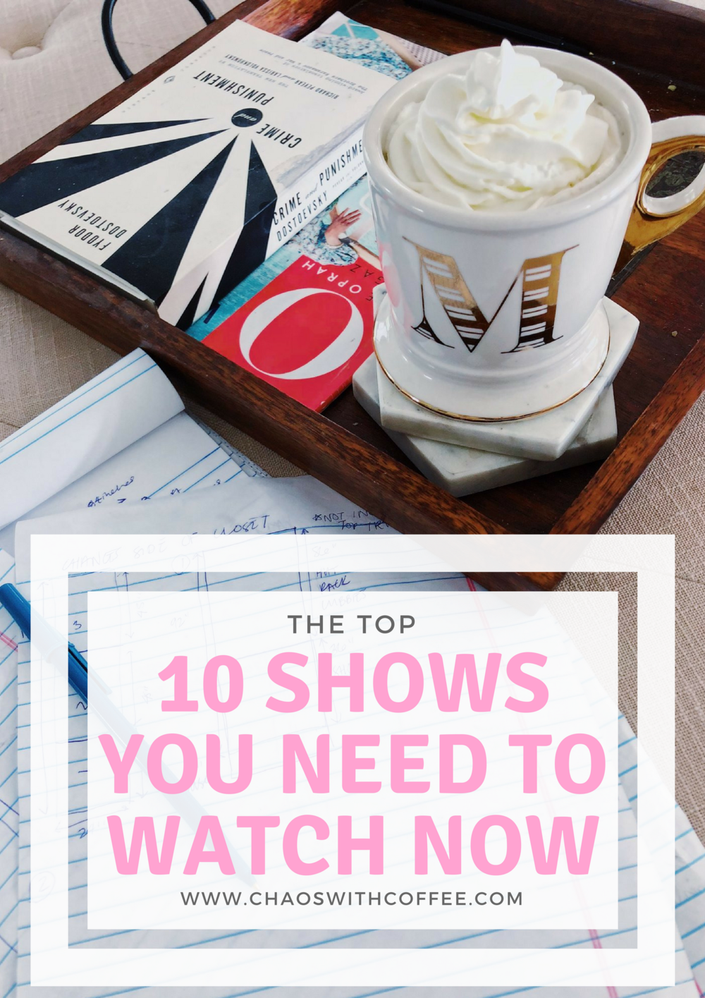 Top 10 Shows via Chaos With Coffee