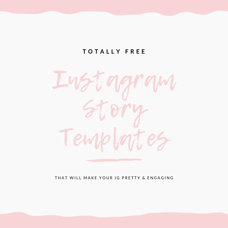 Instagram Story Templates via Chaos With Coffee