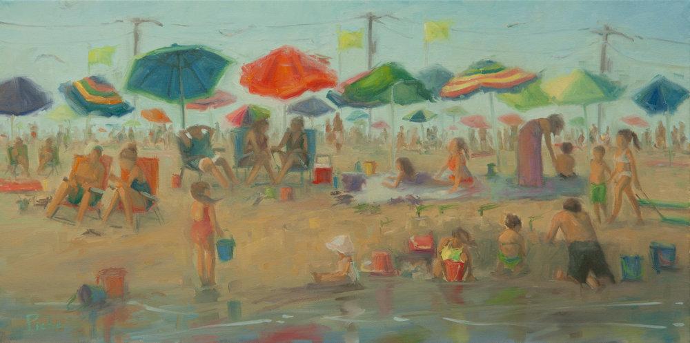 Beach Hustle Bustle