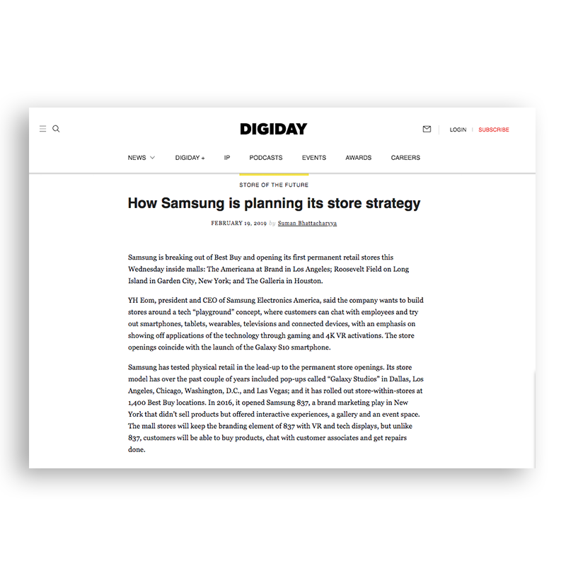 Digiday | February 2019