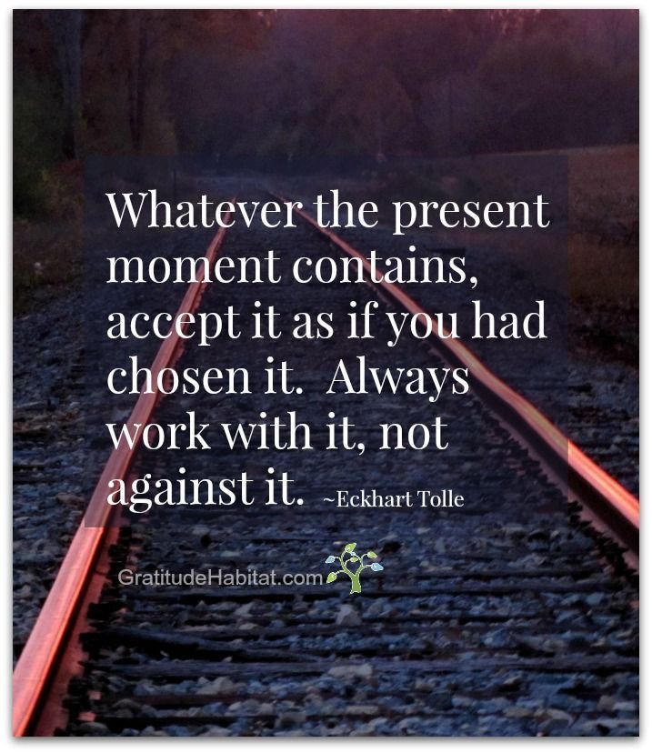 Eckhart Tolle Teaches us to stay present in each moment which helps us to gain mental clarity and awareness.