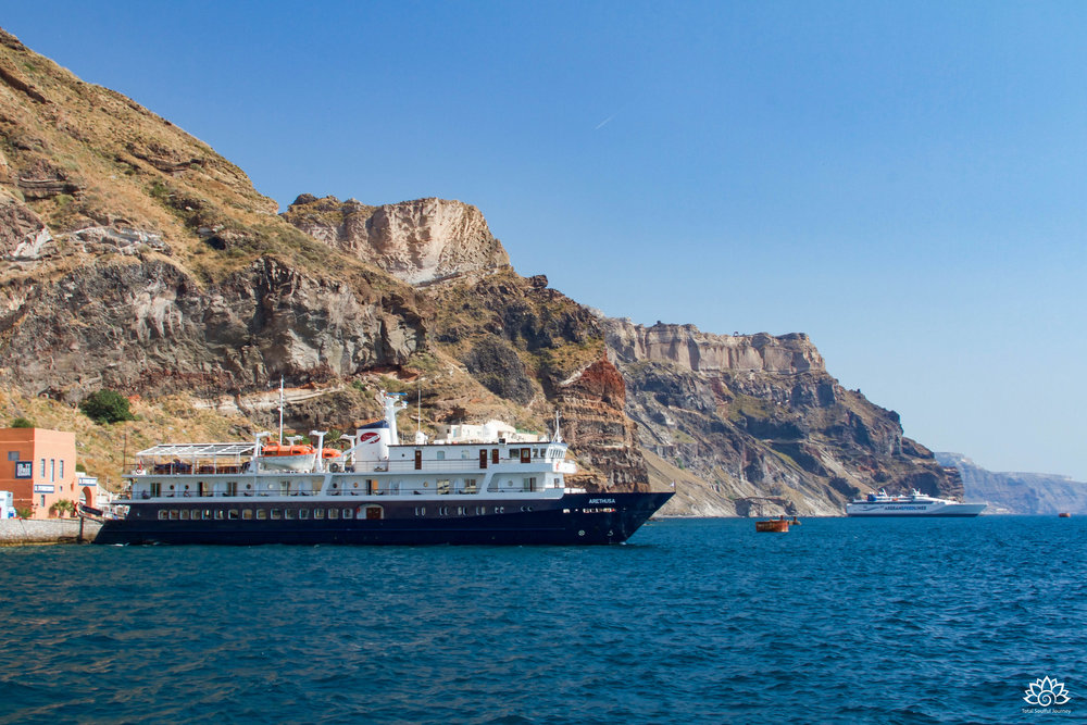 Cruising via small ships means that you get to dock directly at ports and you don't have to deal with the big crowds that you would experience on the large cruise ships. Photo by Paul Garrett