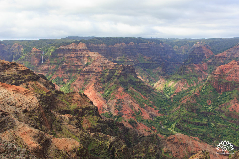 Photography of Waimea Canyon by Paul Garrett