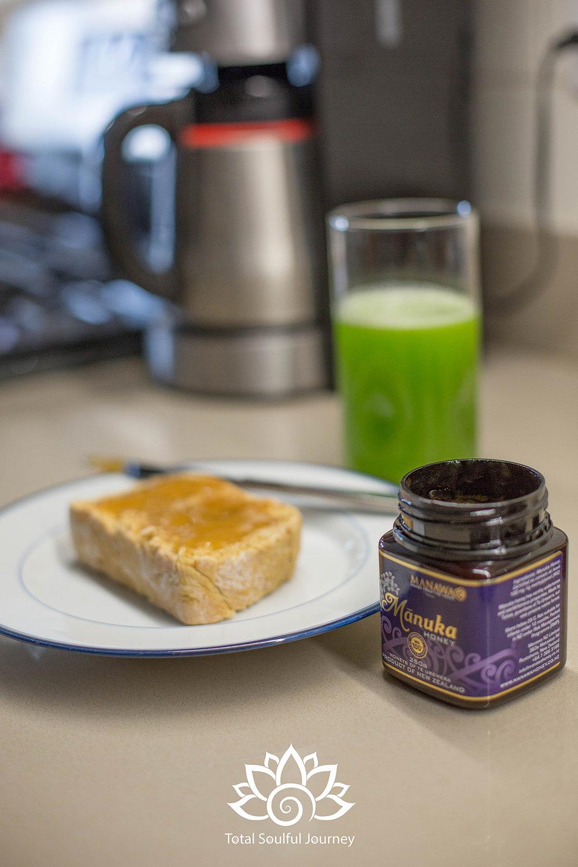 Manuka Honey is yummy on toast or in Tea - Photography