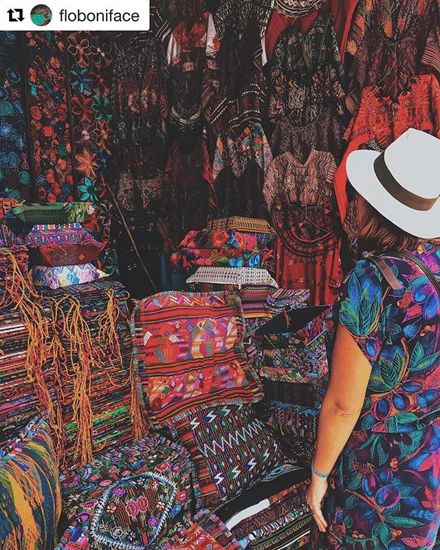 ~ Follow @floboniface to enter our first giveaway TODAY! 🙌🏼 ~ So excited to partner with a fellow traveler who loves backpacking, Guatemala and storytelling as much as we do 🙌🏼🤩❤️ #Repost ・・・ A R T I S A N  D R E A M S 🌈 Week Forty Three: Guatemala 🇬🇹 ✧ ✧ ✘ The BIGGEST artisan market in Central America. 👛 Surrounded by incredible valleys with mountains ⛰ #Chichicastenango can appear isolated in time & space from the rest of Guatemala in some ways. It's a day trip from Lake Atitlan & you won't regret it. 🚌 When its narrow cobbled streets and red-tiled roofs are covered in mist, it's magical ✨. The huge crowds of crafts 🥀 vendors & tourists who flock in for the famous Thursday & Sunday ✌️markets turn it into a much crazier, commercial atmosphere, but Chichi retains its mystery. ☁️ ✨ Masheños (citizens of Chichicastenango) who speak Mayan language & are direct descendants of the original Mayan people are famous for their adherence to pre-Christian ⛪ 🙏 beliefs & ceremonies, and the town's various cofradías (religious brotherhoods) hold processions in observance of their saints around the church ⛪ of Santo Tomás. 💭 ✧ ✘ If you love the colours and incredible textiles & work ✂️ you see here, you'll LOVE what I have in store with #EthicalFashion boutique @mymerkata tomorrow. 😜 Stay tuned! ⏰ You won't want to miss it 💫 #MyMerkata #Guatemala #piesliesandthighs 🥧 ✧ ✘ www.piesliesandthighs.com 👩🏻💻