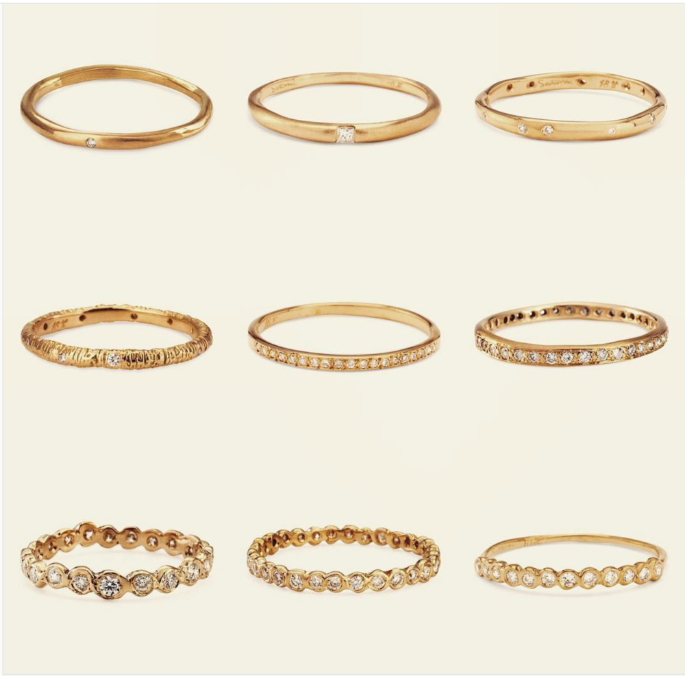 Wedding bands that look Indian inspired - by badal