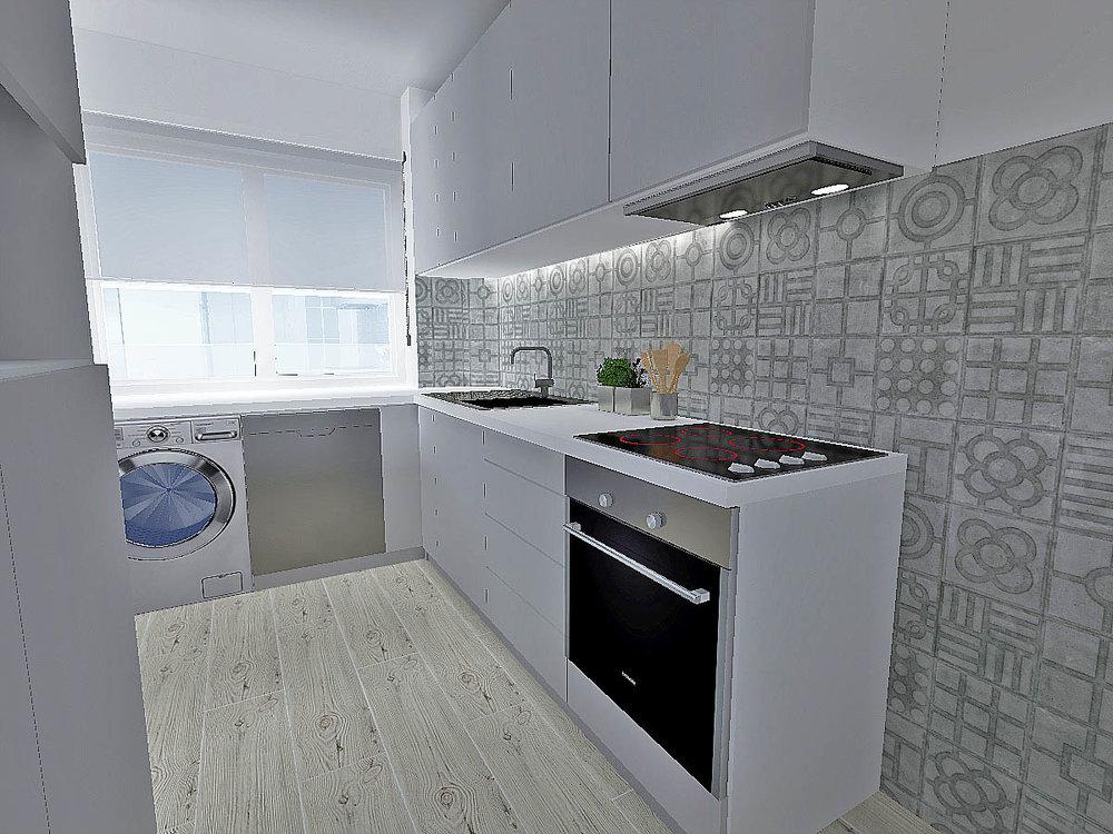 Apartamento Luz, Lisboa 2017