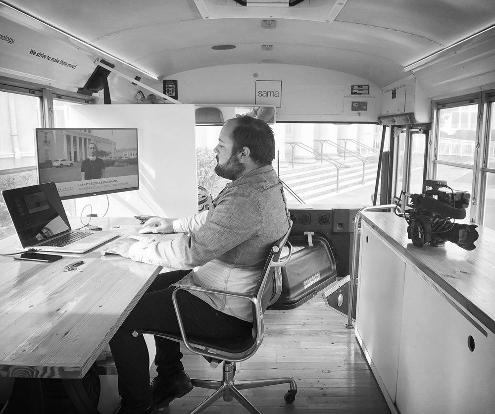 Aperture Bus Interior