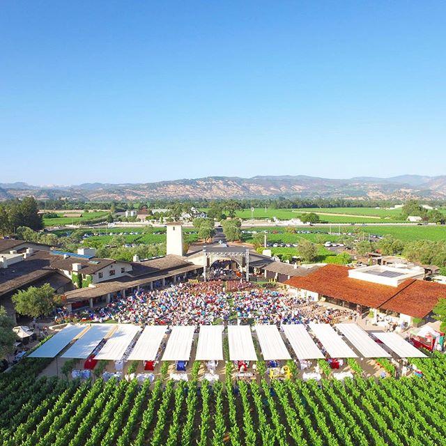 Ready for another BottleRock Presents! Summertime in Napa Valley looks something like this🍷 🎶 • • • • • #dji #djiinspire1 #djiinspire2 #robertmondavi #mondavi #napavalley #bottlerock #bottlerockpresents #visitnapavalley @visitnapavalley @robertmondavi