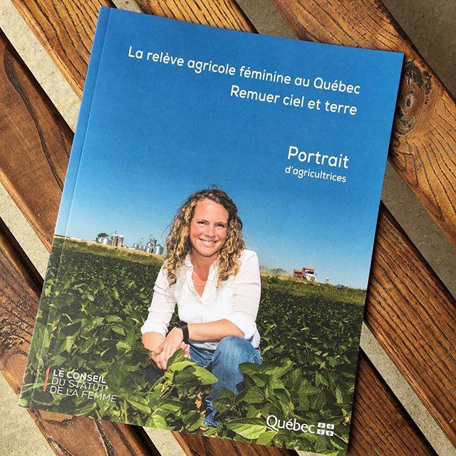 Hier, nous avons assisté à la conférence de presse du Conseil du Statut de la Femme sur le portrait préliminaire de recherche « La relève agricole féminine au Québec - remuer ciel et terre. . . . #conseildustatutdelafemme #agricultrice #agplusquejamais #marchejeantalon #entreprisequebecoise #entreprendreaufeminin