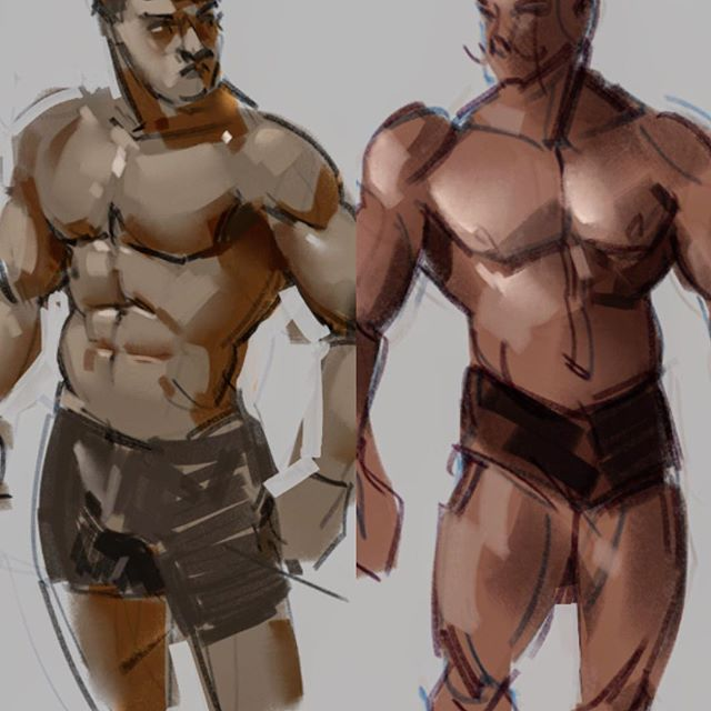Anatomy of form studies...