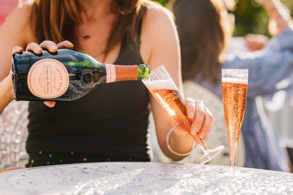 Laurent Perrier at Taste of London, Regent's park. 2018.