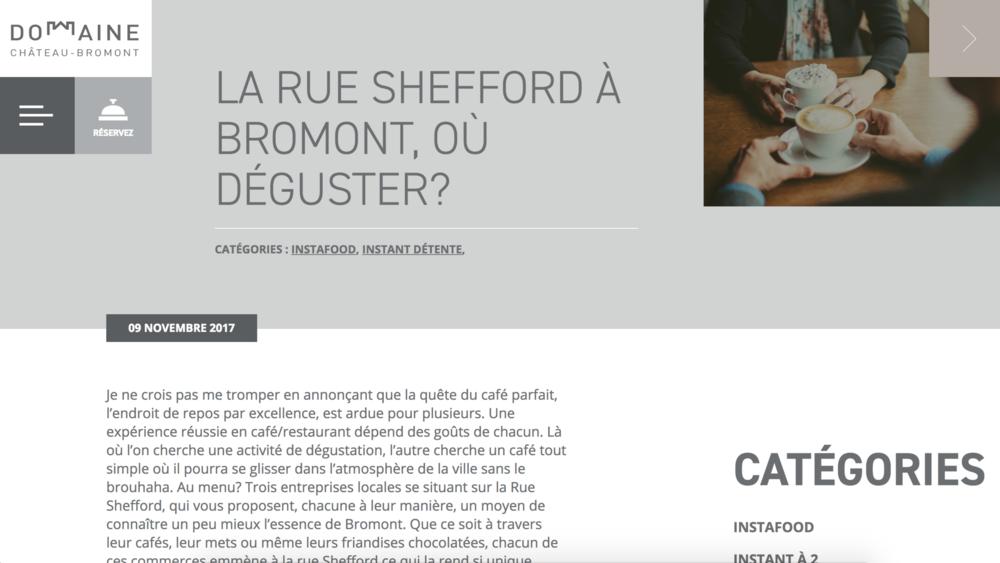 Domaine Château Bromont - par Delphine9 nov. 2017
