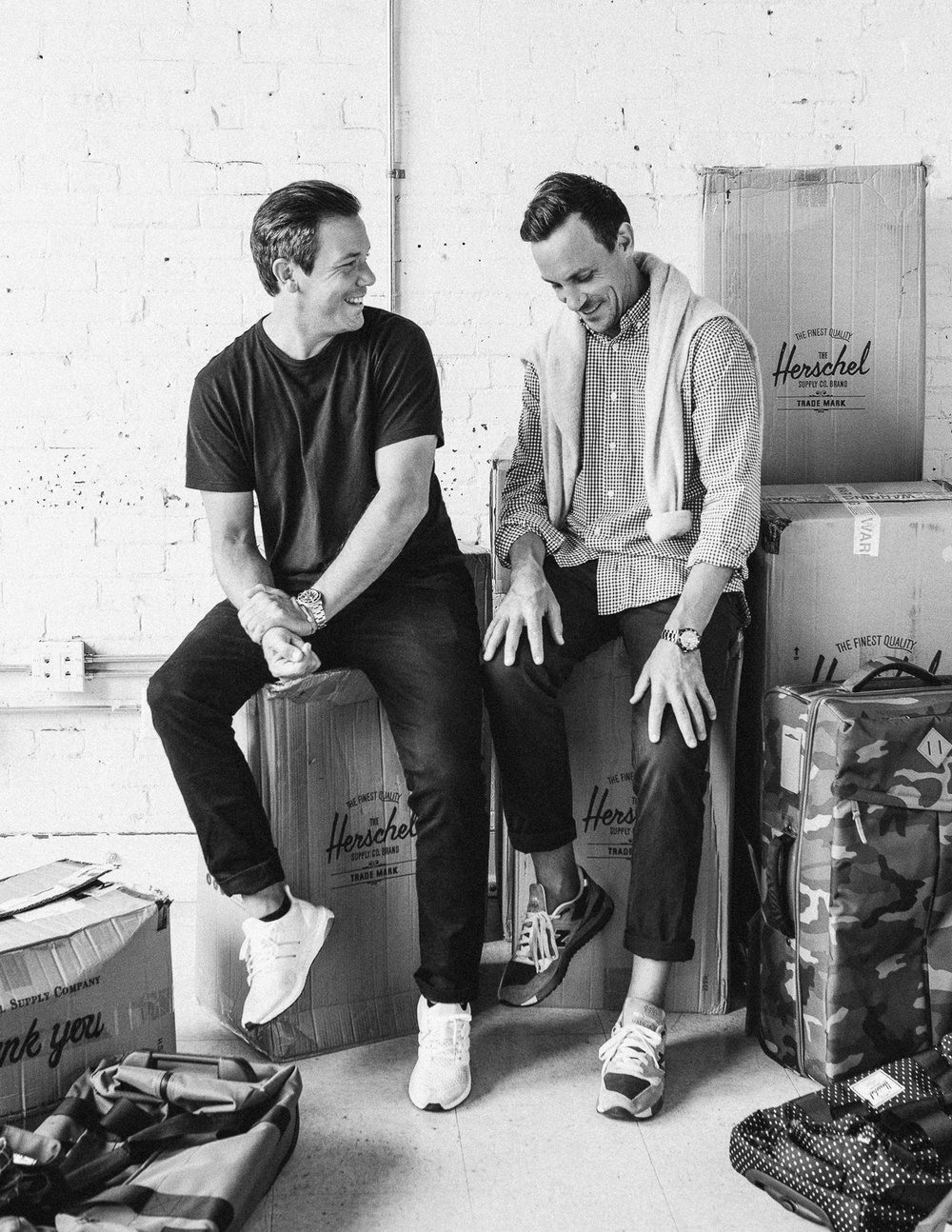 ‎Lyndon and Jamie Cormack / Herschel Supply Co