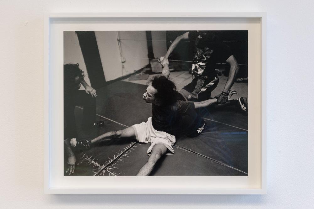 Elle Perez   Untitled (practice),  2014/2018  Digital silver gelatin print  13 x 16 in