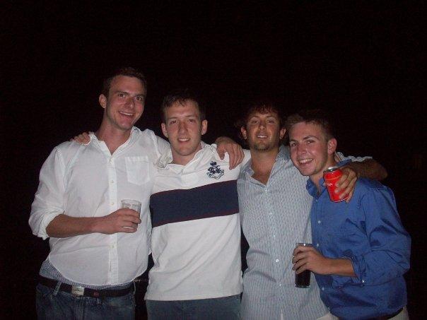 Sam, Justin, Jeff & Willy