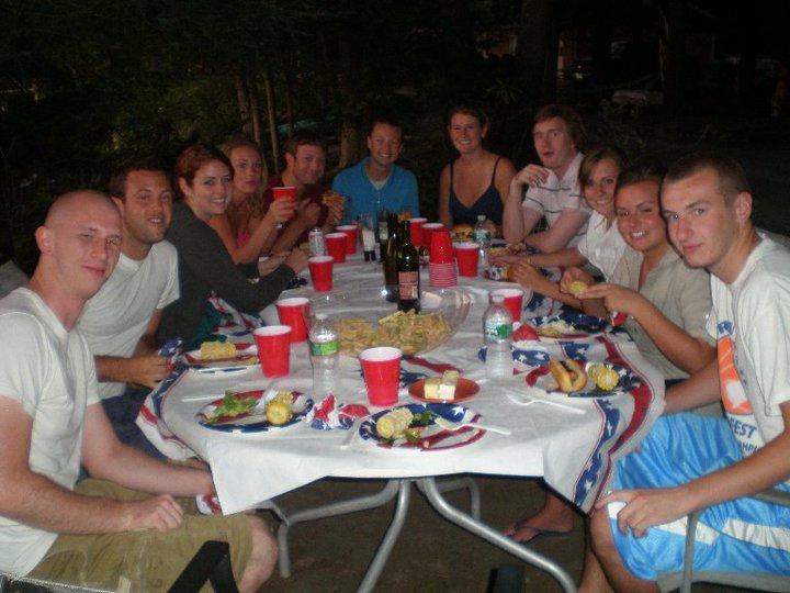 Family reunion dinner in NJ