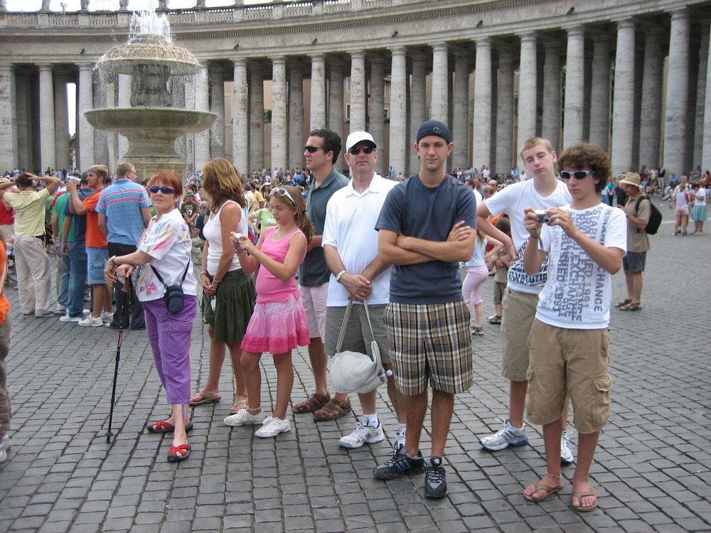 Young-Fusco Italian adventure - Vatican City