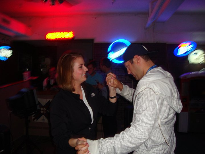 Jeff & Blair dancing