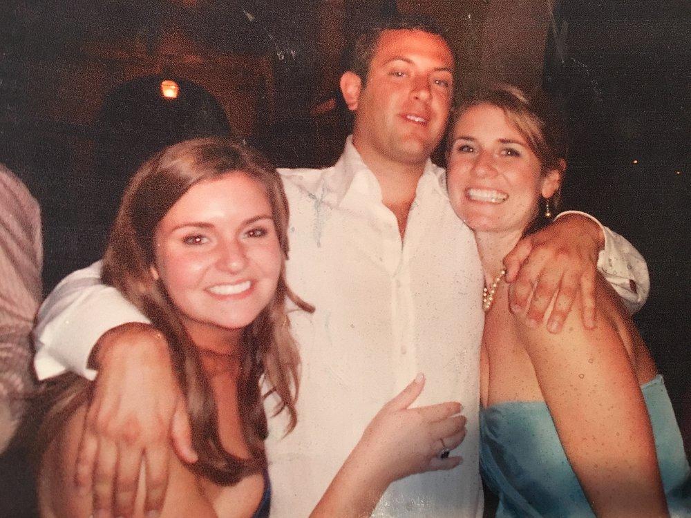 Jeff with cousins, Erin & CJ
