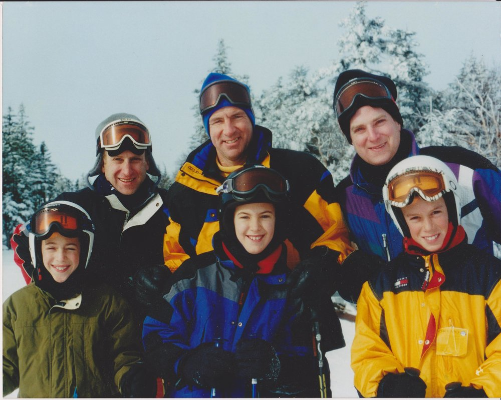 The Youngs-Atkins, father-son ski trip