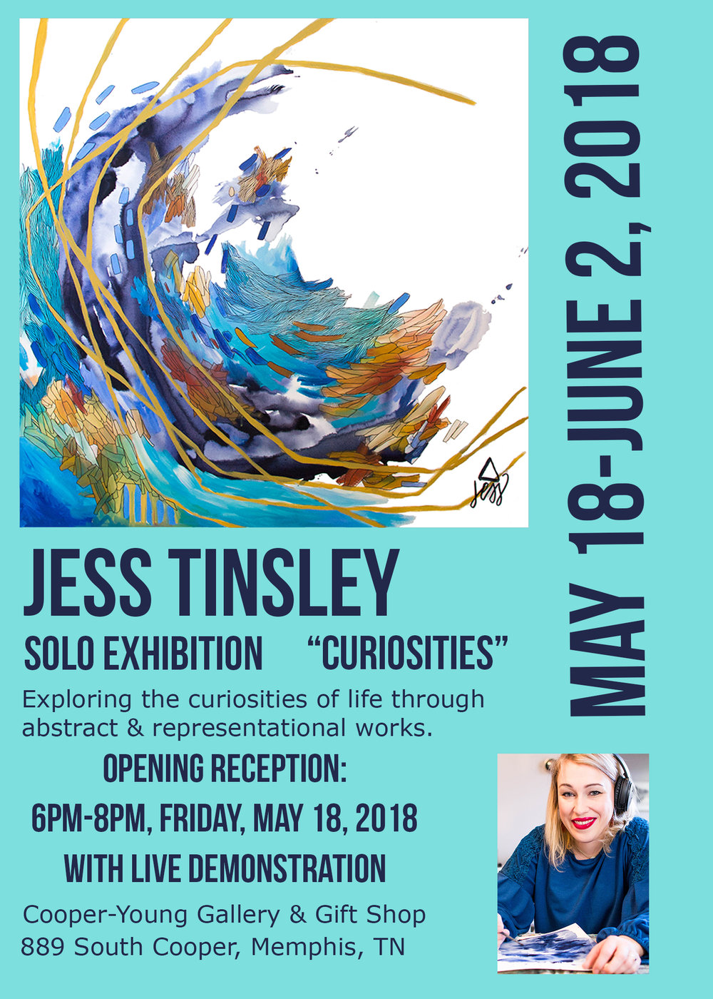 Jess Tinsley: Curiosities
