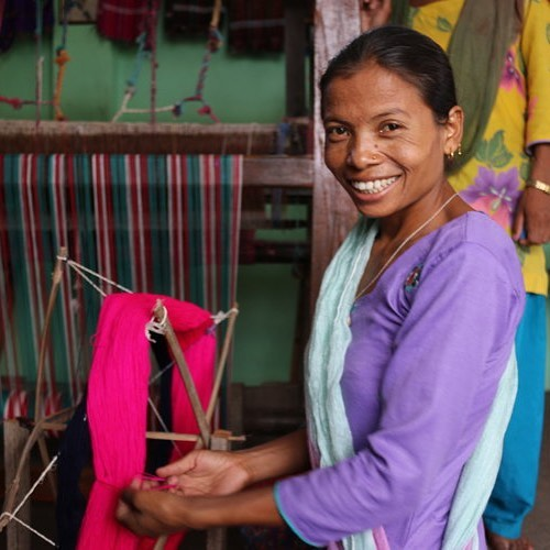 At the Cooperative we support issues that are close to our hearts... read our website to find out more about weaving, sewing and supporting business entrepreneurship of women and women's health ❤