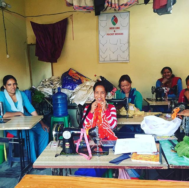 Many of our women are graduates of the #kopilavalleywomenscenter , many of our women are from the local valley , all brought together by the skills they share. The Kopila valley Women's Center was started in 2013 by @blinknoworg