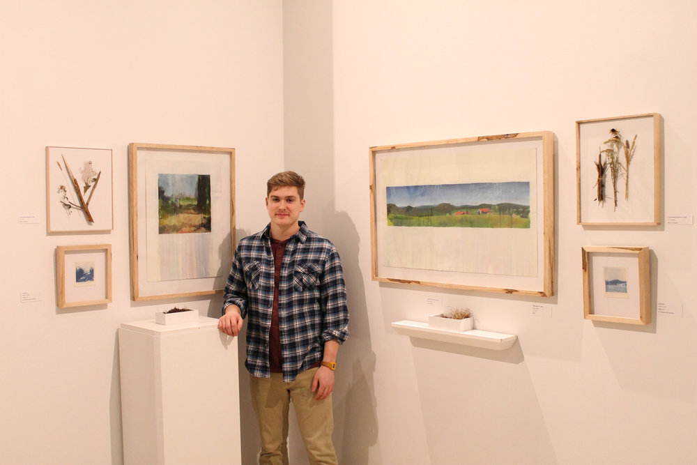 Bryan Fellenbaum is a visual artist from Lancaster, Pa. He received his BFA in Painting from Kutztown University in May of 2016.