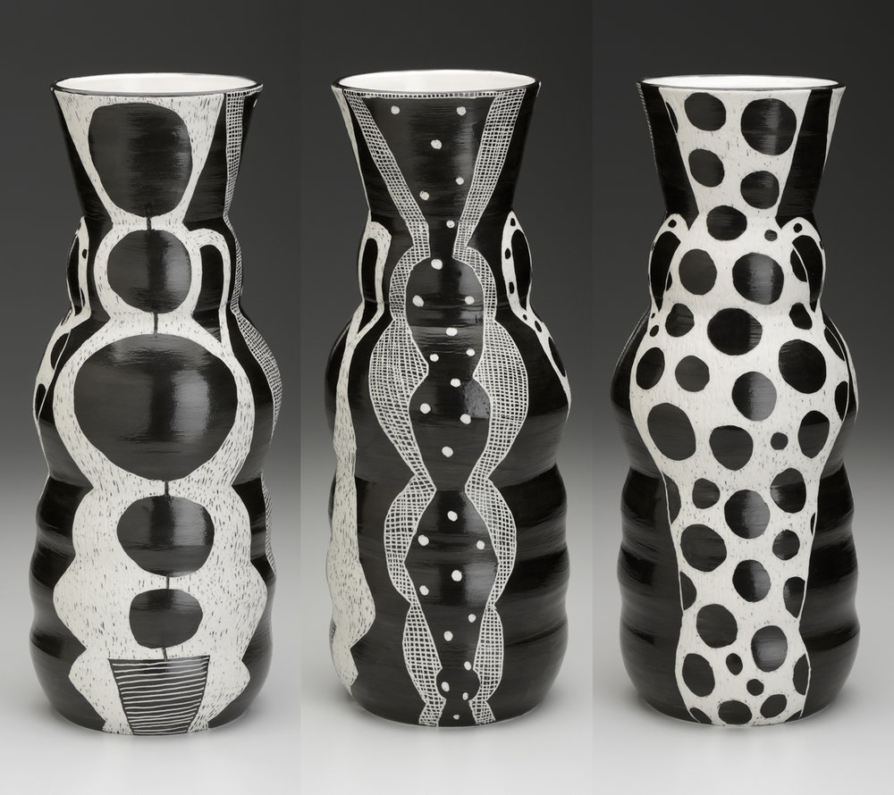 One Vase, Three Views