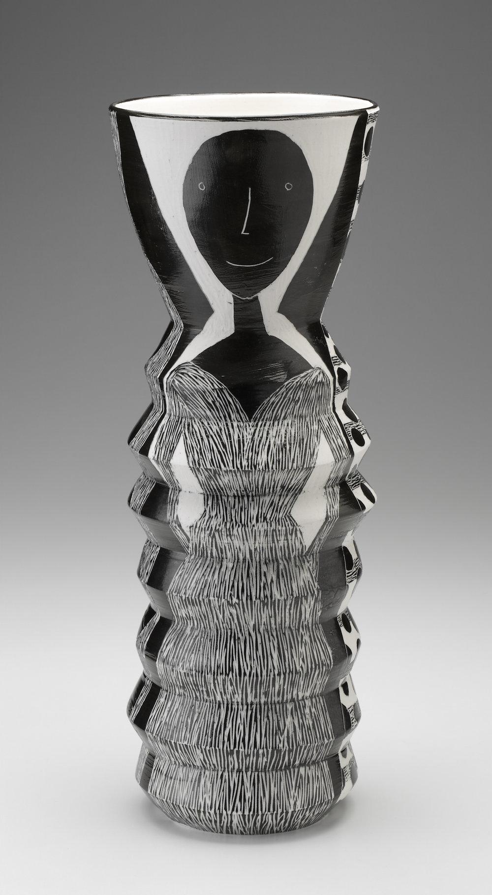 Woman on Vase
