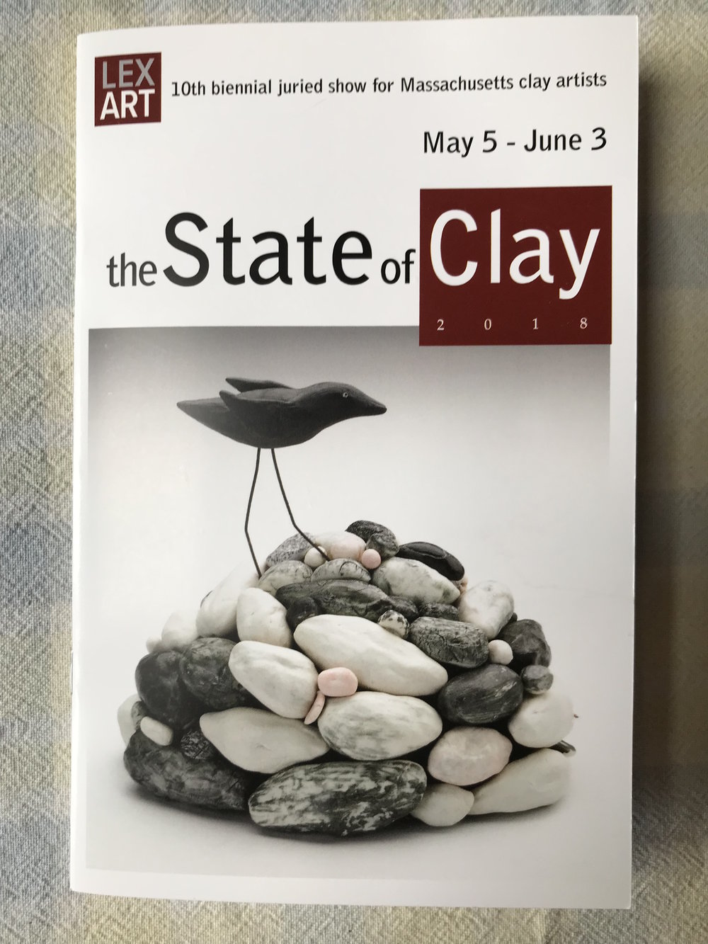 The State of Clay - May 5 - June 3, 2018, Lexington, MAParsons Gallery at The Lexington Arts & Crafts SocietyFrancine's work will be included in an exhibit featuring clay artists connected to the state of Massachusetts. This show is juried by Emily Zilber, the Curator of Contemporary Decorative Arts at the Museum of Fine Arts, Boston MA.In other good news, the piece sold (!)Learn more here, at The State of Clay
