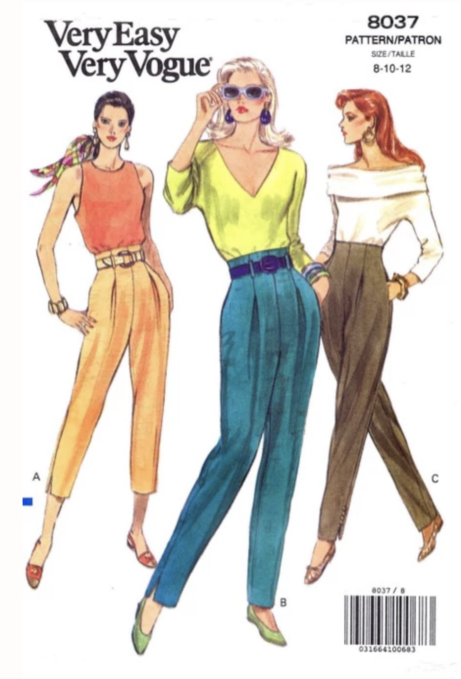 A classic Blousy Trou circa 1991.  Vintage Patterns Wikia