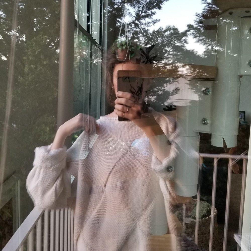 Lauren Manoogian entrelac sweater