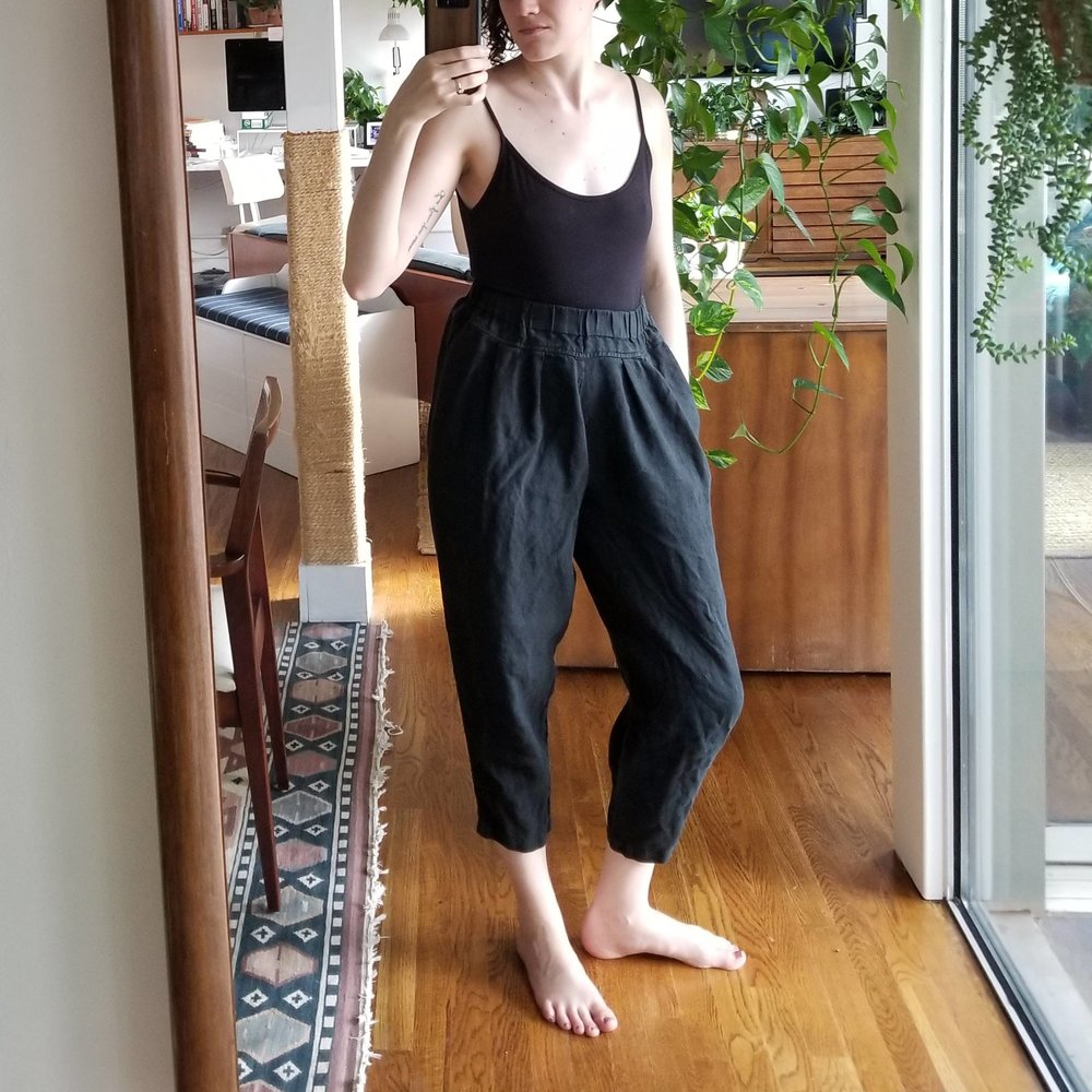 Monday Night - June 11, 2018And my unofficial summer loungewear, or what I call my